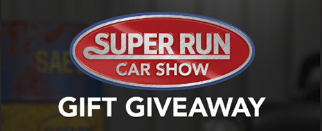 Super Run Gift Giveaway