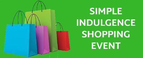 Simple Indulgence Shopping Event