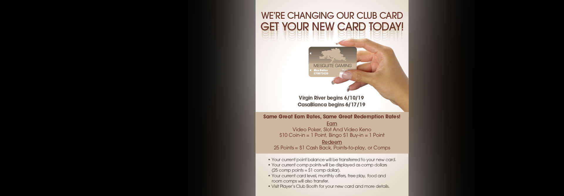Virgin River Hotel and Casino in Mesquite, NV Virgin River