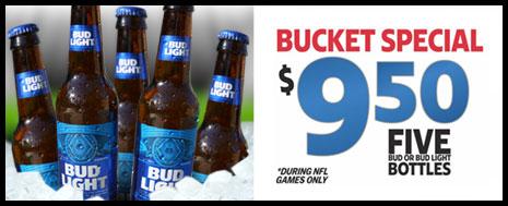 Bucket o' Buds $5
