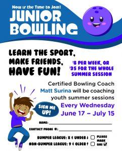 Junior League Bowling