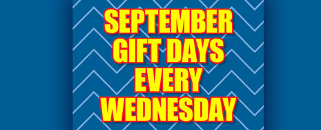 September Gift Days