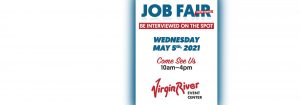 Job Fair May 5th 2021 Mesquite Gaming Virgin River